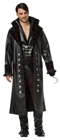 Once Upon A Time Hook Costume For Men from CostumeExpress.com