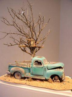 Tim Prythero: Truck and Tree