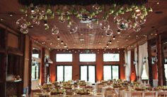 Statice Floral and Pink Monkey made this Colorado wedding reception absolutely gorgeous