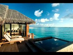 Ocean Villa at Beach House Iruveli, Maldives Best Resorts In Maldives, Maldives Destinations, Maldives Beach, Visit Maldives, Maldives Resort, Hotels And Resorts, Amazing Destinations, Most Romantic Places, Beautiful Places