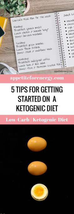 Are you ready to start a Ketogenic or Low-Carb Diet but just not sure where to start? Repin and click through to read our top 5 tips for transitioning onto a low-carb eating plan. We also share strategies for avoiding basic keto diet pitfalls.
