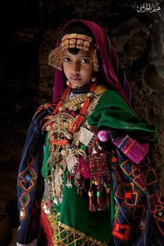 Bedouin girl
