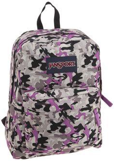 Purple Camo Jansport backpack for girls Camo Backpack c7a958f0e8ca8