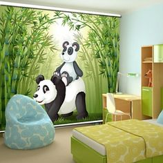 Father Panda & Baby Panda With Bamboo Roller Shade For Only:NZ$49.99 https://www.wowrox.com/auctions/home-living/father-panda-baby-panda-with-bamboo-roller-shade-01766133/