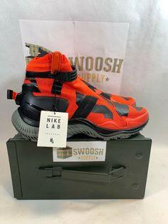 8ac2bdcdb6a Nike NSW Gaiter Boot NikeLab Mens 9.5 Team Orange Black Tumbled Grey  AA0530-800  Nike  CrossTrainingRunning
