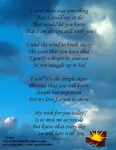 Image result for poems about grief and hope