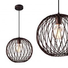 [lux.pro] Design Hängeleuchte bronze Metall