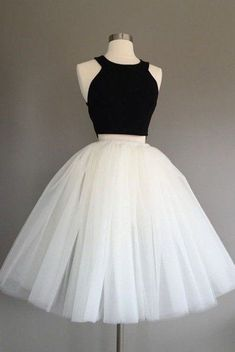 Ivory Tulle Skirt – light ivory tulle skirt, Adult Bachelorette Tutu- ivory adult tutu, white adult tulle skirt – Beading and Clothes Two Piece Homecoming Dress, Cute Homecoming Dresses, Prom Dresses Two Piece, Hoco Dresses, Cheap Prom Dresses, Pretty Dresses, Beautiful Dresses, Elegant Dresses, Sexy Dresses