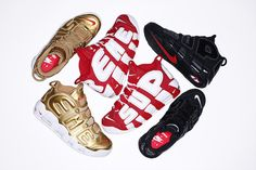 new product c7496 bb316 SUPREME X NIKE AIR MORE UPTEMPO Nike Sb, Nike Air Max, Jordan 3,