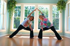 Seniors Challenge Yoga Stereotype.  It's just great at any age.