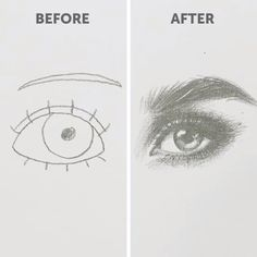 Eye Drawing Tutorials Art Lessons Drawings Doodle Art Art doodle art for beginners drawing Drawings Eye lessons Tutorials Cool Art Drawings, Pencil Art Drawings, Art Drawings Sketches, Easy Drawings, Beautiful Drawings, Sketches Of Eyes, Drawing With Pencil, How To Shade Drawings, Hipster Drawings