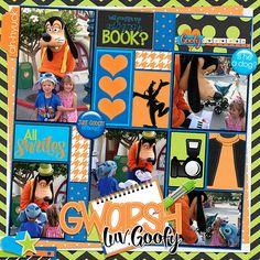 Template: Pocket Perfect Volum 3(Kellybell Designs) Kits: Just Goofy (Kellybell Designs, Just Goofy Tags & Flairs {Kellybell Designs), Just Goofy Journal Cards (Kellybell Designs), Just Goofy Pocket (Kellybell Designs), Just Goofy Word Art (Kellybell Designs)
