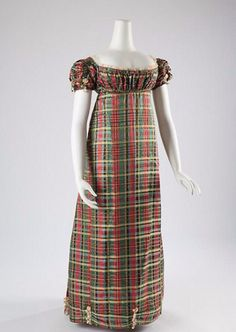 Evening dress ca. 1812