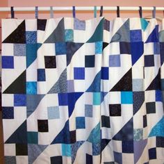 fabric_shower_curtain_in_blue_jacobs_ladder_quilt_patchwork_4579f492.jpg (500×500)