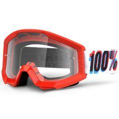 100% Strata Goggles - 3D Clear Lens