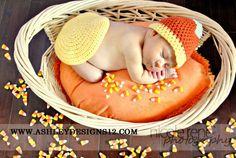 Halloween Candy Corn Baby