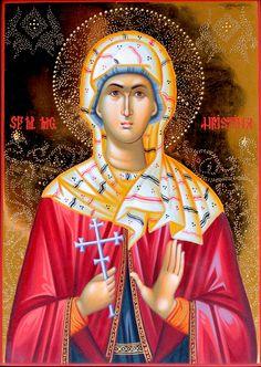 Christina of Tyre - July 24 Orthodox Icons, Princess Zelda, Disney Princess, Religious Art, Disney Characters, Fictional Characters, Saints, Aurora Sleeping Beauty, Female