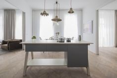 View full picture gallery of Apartment E&E Cheap Office Decor, Classic Interior, Double Vanity, Countertops, Tile Floor, Modern, Architecture Design, Interior Design, Pictures