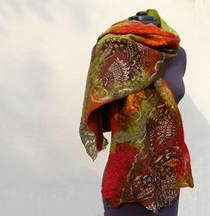 merino wool, cotton fabric, silk, lace