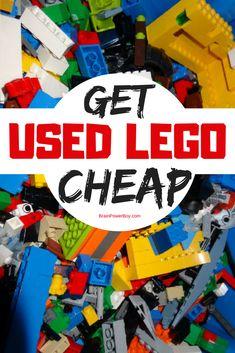 How to Buy Used LEGO and Get it Cheap! (Tips & Tricks to Save Money) Tipps und Tricks, um LEGO günstig zu nutzen. Lego Storage, Kids Storage, Storage Ideas, Lego Design, Cheap Lego, Lego Duplo Train, Lego Books, Used Legos, Lego Activities