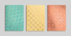3 Stitched Notebook Set | Kortney Collection by Bookjigs | from Franklin Mill