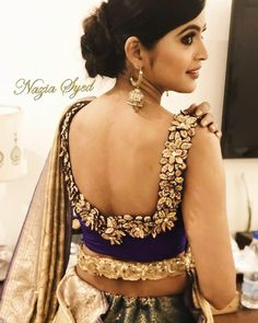 Blouse back design ideas for your wedding saree & lehenga! - Blog