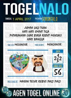 Kode Wangsit 4D Togel Wap Online TogelNalo Gorontalo 1 April 2017