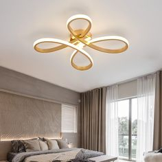 Gold Ceiling Lights Fixtures Bathroom Light Ceiling Lamp For Living room Kids Bedroom Creative Modern LED Dimmable plafonnier Gold Ceiling Light, Ceiling Chandelier, Led Ceiling, Chandeliers, Ceiling Design Living Room, Living Room Designs, Living Spaces, Bathroom Light Fixtures, Bathroom Lighting