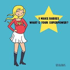 Funny Illustrations of Pregnancy Struggles | POPSUGAR Moms
