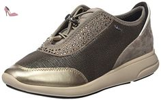 New Moena A, Baskets Basses Femme, Schwarz (BLACKC9999), 35 EUGeox