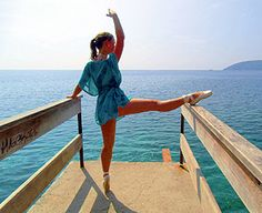 Bloch fan Janna Be has just us this pictures of her dancing on the island Elba, Italy.  Thanks for your picture Janna - The Bloch Team