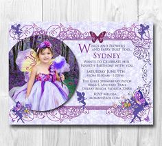 Hey, I found this really awesome Etsy listing at https://www.etsy.com/listing/190590324/fairy-birthday-invitation-pixies-fairies