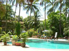 ★★★★ The Fair House Beach Resort & Hotel, Chaweng Noi Beach, Thailand Beach Resorts, Hotels And Resorts, Koh Samui, Strand, Thailand, Spa, Book, Outdoor Decor, House