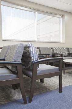 Alegent Lakeside Clinic in Omaha, Ne. Waiting room. http://www.kurtjohnsonphotography.com/