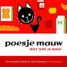 Eenvoudige peuter- en kleuterrijmen in Poesje Mauw uit 2014