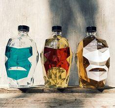 Diseños de botellas inspiradas en luchadores; un ejemplo de buen Branding