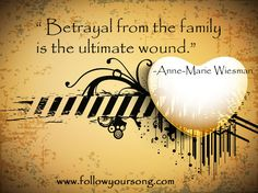 It absolutely is. Having a Narcissist parent is bad enough ~ but when you add to it the flying monkeys & enablers, it can be so painful it becomes emotionally crippling.  Blessings & Peace to all of you fighting the same battle. ❤️