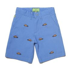 JETTIES SHORTS PERIWINKLE WITH WOODY