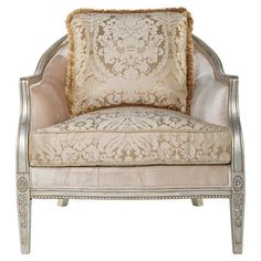 Add regal appeal to your living room or library with this classic arm chair, perfect for entertaining guests in the foyer or enjoying a good book in the den....