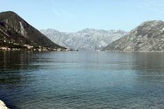 Water and mountains in wonderful Kotor