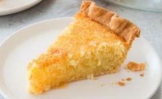 French Coconut Pie with Buttermilk - recipe on Veryculinary Pie Recipes, Dessert Recipes, Cooking Recipes, Party Recipes, Just Desserts, Delicious Desserts, French Coconut Pie, Coconut Custard, Pie Coconut