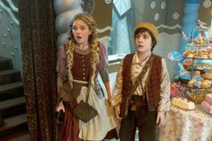 Hansel and Gretel once upon a time
