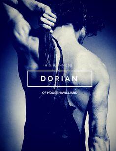 Dorian Havilliard // Throne of Glass by Sarah J. Maas