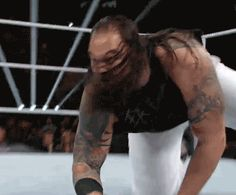 Creepiest thing I ever did see. Wrestling Gifs, The Wyatt Family, Wwf Superstars, Bray Wyatt, Wwe Stuff, Cm Punk, New Face, Awesome, Amazing