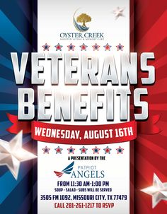 its always a great time to learn about veterans benefits stop by on august 16th