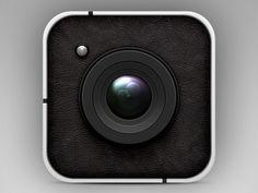 Vector Camera Icon (PSD)