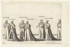 Deel van de optocht, nr. 31, Joannes van Doetechum (I), Lucas van Doetechum, Hieronymus Cock, 1559