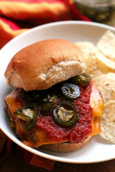 Enchilada veggie burgers – all the bold flavor of your favorite Mexican dish packed inside a black bean burger!