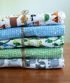 Organic Baby Blanket, HAPPY DRAWING Collection