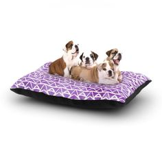 """Pom Graphic Design """"Tribal Mosaic"""" Dog Bed 